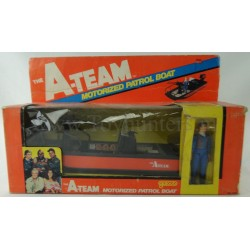 Motorized Patrol Boat MIB with Hannibal A-team Galoob