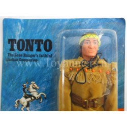 Tonto MOC no cracks C9+ Marx Toys The Lone Ranger