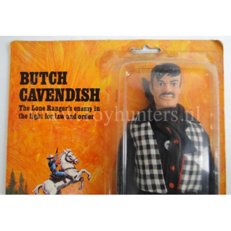Butch Cavendish MOC C85 Marx Toys The Lone Ranger