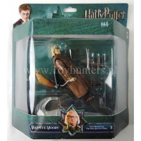Mad-Eye Moody MIP PopCo Deluxe Action Figures Harry Potter WB