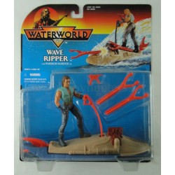 Wave Ripper w/ Warrior Mariner MOC Waterworld Kevin Costner