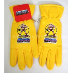 vintage He-man gloves YELLOW MIP - Masters of the Universe