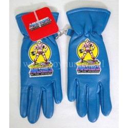 vintage He-man gloves BLUE MIP - Masters of the Universe