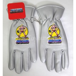 vintage He-man gloves SILVER MIP - Masters of the Universe