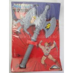 Grey Ax MIP Delavennat MOTU He-man