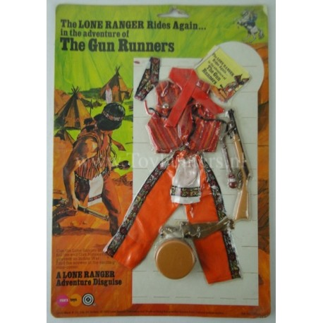 The Gun Runners outfit MOC - The Lone Ranger Marx Toys 1975 Carson City