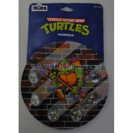 Turtles Rad Rollers EU edition MIP marble marbles plastic