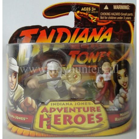 Indiana Jones and Marion Ravenwood Adventure Heroes