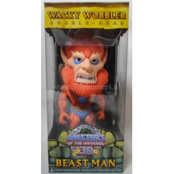 Beast Man Wacky Wobbler MIP - Masters of the Universe MOTU He-man