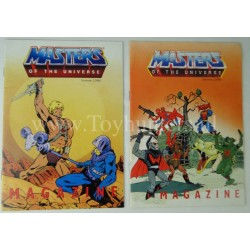 MOTU Free Giveaway magazines set of 2 - unread He-man