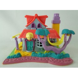 Light-up Kitty House 1994 Animal Wonderland - Polly Pocket Bluebird