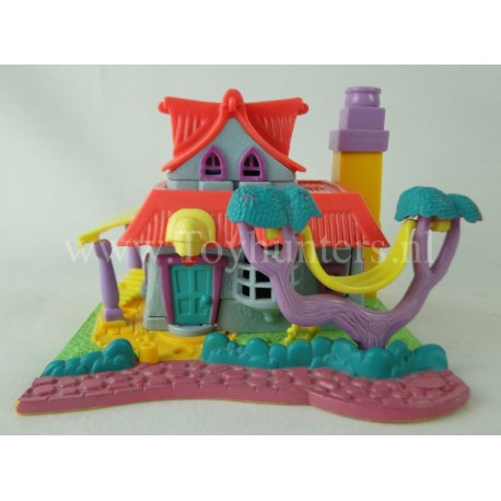 1994 Light-up Kitty House - Bluebird Toys Compact Polly Pocket Fashion