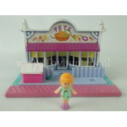 Pet Shop Pollyville 1993 - Polly Pocket Bluebird vintage