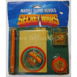 Secret Messages MOC - Secret Wars - Mattel 1984