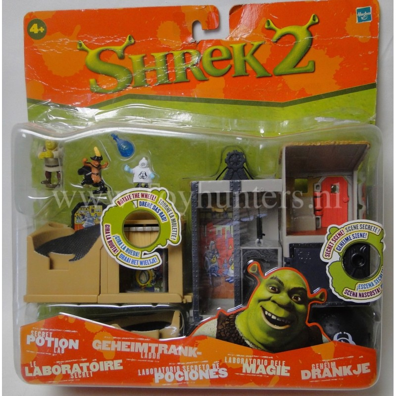 Secret Potion Lab Moc Shrek 2 Hasbro Ebay
