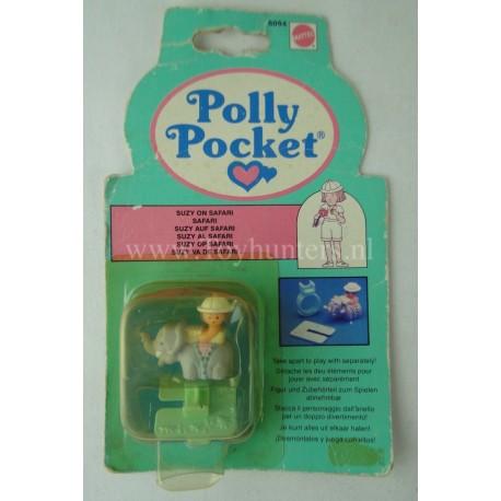 1990 Mattel Polly Pocket ANELLO SUZY AL SAFARI MOC