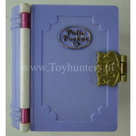 1995 Sparkle Snowland - Enchanted Storybooks - Bluebird Toys Compact Polly Pocket Fashion