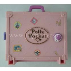 1996 Polly in Paris - Bluebird Toys Compact Polly Pocket Fashion