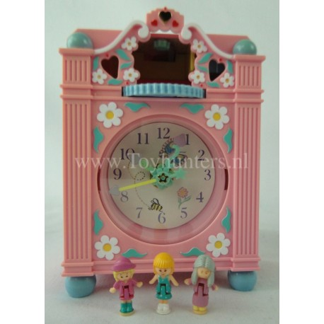 1991 Funtime Clock Pink Variation - Polly's Fairy Clock