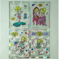 set of 4x Polly Pocket Stickers 1994 BBT