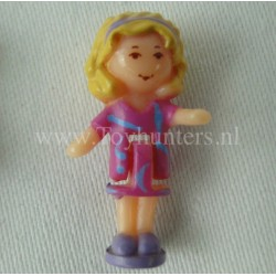 1993 Polly from Dazzling Dog Show - Polly Pocket