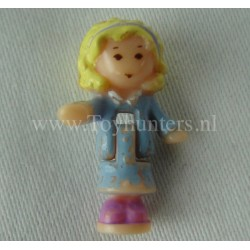 1992 Polly from Babysitting Stamper Set - Polly Pocket