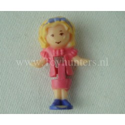 1993 Polly from Royal Throne Ring - Polly Pocket