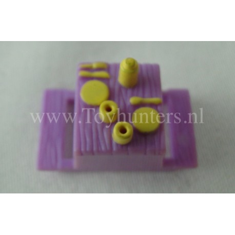 1997 Picknick Table from Up Up and Away - Polly Pocket