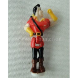 1997 Gaston from Disney's Beauty and the Beast Magical Castle