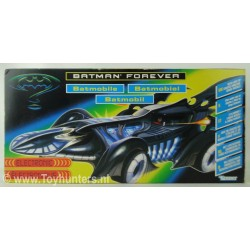 Batmobile Electronic - Batman Forever - Kenner 1986
