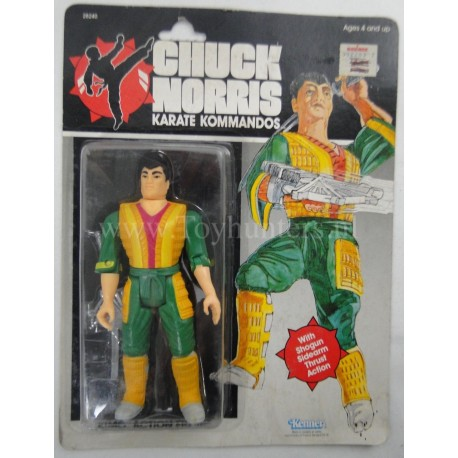Tabe MOC - Chuck Norris Karate Commandos - Kenner 1986
