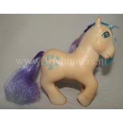 Gingerbread MLP Twinkle-Eyed Ponies - Hong Kong - Hasbro 1985