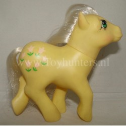 Posey - MLP Earth Pony - Hong Kong - Hasbro 1984