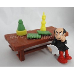 Gargamel PVC with table and accesoires
