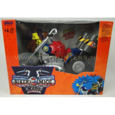 Grunge Cycle MIB Greaspit - Galoob - Biker Mice from Mars
