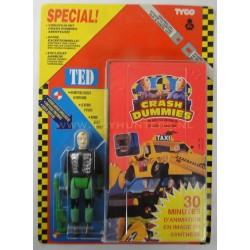Ted w/ VHS MOC - Crash Dummies