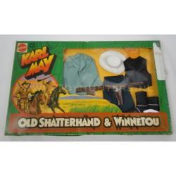 Texas Ranger set MIB - Karl May Big Jim - Mattel 1975 no 9412