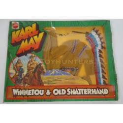 Indian Chief set MIB - Karl May Big Jim - Mattel 1975 no 9413