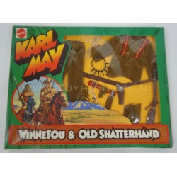 Winnetou set MIB - Karl May Big Jim - Mattel 1975 no 9415