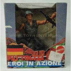 Grenade Thrower - Heroes in Action - Mattel 1975 Italy