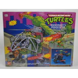 Rocksteady's Pogocopter MIB - TMNT Playmates 1989