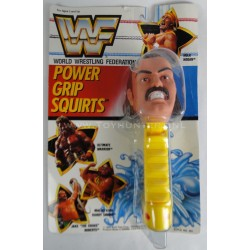"Jake ""the Snake"" Roberts Power Grip Squirts MOC - WWF 1990 Multi Toys"