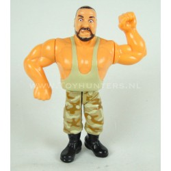 Bushwhacker Luke v2 - Series 10 - WWF Hasbro 1994 D. Blue Card
