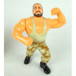 Bushwhacker Butch v2 - Series 10 - WWF Hasbro 1994 D. Blue Card