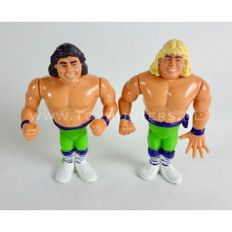 The Rockers - Marty and Shawn - Tag Team WWF Hasbro 1991