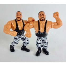 The Bushwhackers Butch and Luke - Series 2 - WWF Hasbro 1991