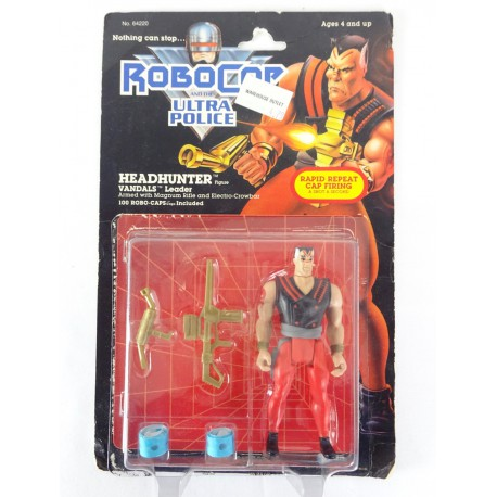 Headhunter loose MOC - Robocop Ultra Police Vandals Kenner 1989 Orion