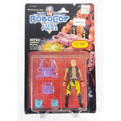 Nitro loose MOC - Robocop Ultra Police Vandals Kenner 1989 Orion
