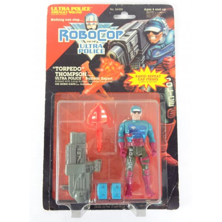Torpedo Thompson MOC - Robocop Ultra Police Kenner 1989 Orion