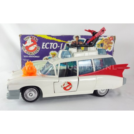 Ecto-1 loose with Box 100% Complete - Ghostbusters